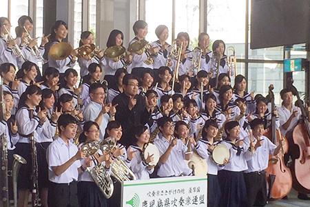 鹿児島県立甲南高等学校HP: 吹奏楽部、おめでとう!!! ~第61回 ...