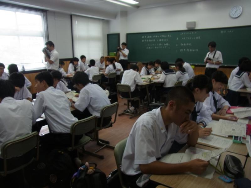 甲南高等学校校内画像